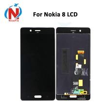 """5.3 """"LCD Für Nokia 8 LCD Display mit Touch Screen Digitizer Montage lcd für Nokia8 N8 TA-1004 TA-1012 TA-1052 mit kostenlose tools"""