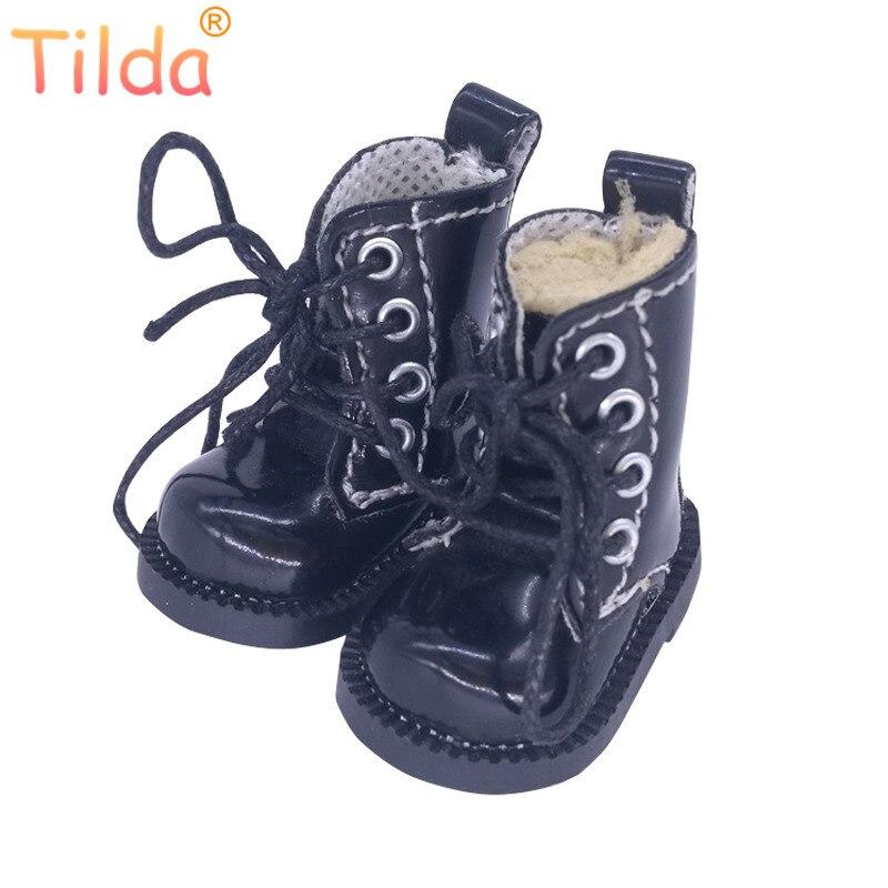 Tilda 1/6 кукла игрушечные сапожки обувь для куклы Blythe пуллип, 4 см сапоги обувь для Blyth Корейская группа EXO KPOP 15 см плюшевые куклы аксессуары