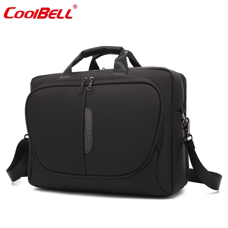 Cool Bell Nylon Waterproof Men Women Laptop Computer Notebook Bag 15.6 inch Business Briefcase  Fashion Shoulder Bag