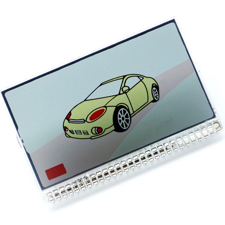 Gran oferta M9 pantalla LCD para Scher-khan Magicar 9 lcd controlador remoto dos forma de sistema de alarma para coche envío gratis