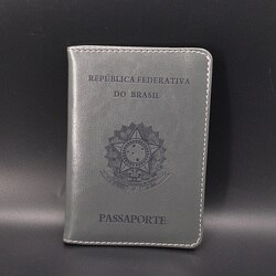 Capa de passaporte feminino brasil bonito passaporte meninas macio couro do plutônio viajar passaporte titular capas para passaportes caso documentos