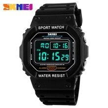Nouvelle mode Skmei marque LED montre hommes sport montres numérique militaire montre 50 m étanche en plein air robe montres