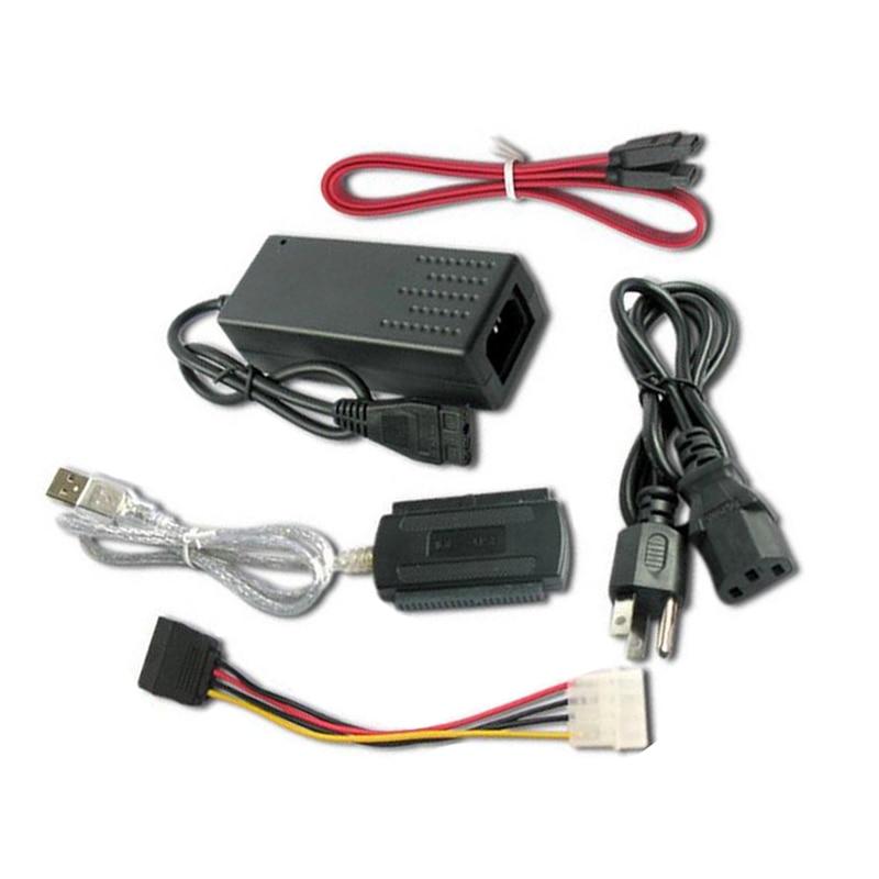 1 комплект USB 2,0 для IDE SATA S-ATA 2,5 3,5 Жесткий диск HD HDD конвертер адаптер кабель EM88