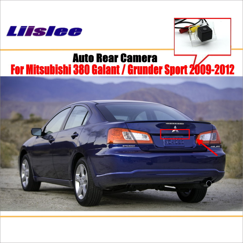 liislee rear view camera for peugeot 408 2014 2018 reverse hole parking back up camera night vision Liislee Rear View Camera For Mitsubishi Galant / Grunder Sport 2009~2012 / Reverse Hole / Parking Back Up Camera / Night Vision