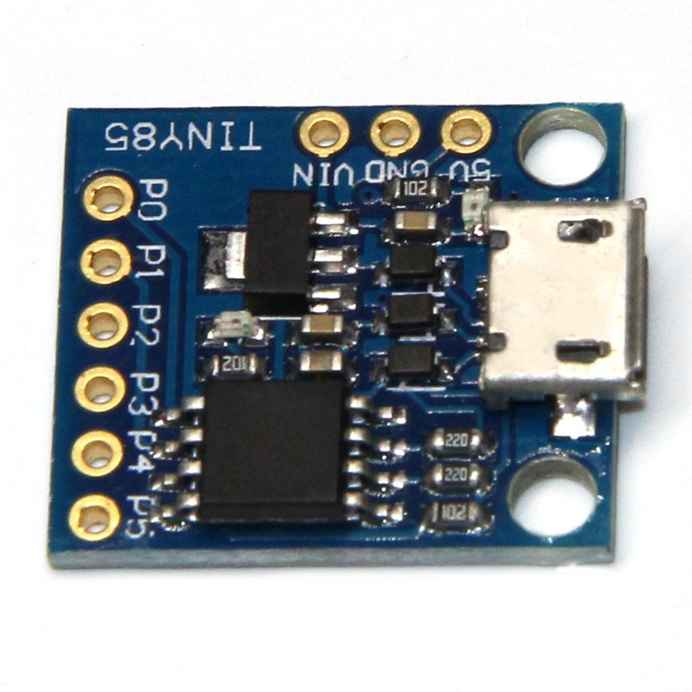 لوحة تطوير Digispark Kickstarter ، وحدة USB مدمجة لـ Digispark Kickstarter ، منظم فلاش 8k ، 500 مللي أمبير 5 فولت ، 10 قطعة