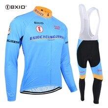 BXIO cyclisme Jersey ensembles à manches longues vélo vêtements Ropa Ciclismo Hombre Verano 2020 pas cher vélo vêtements populaires BX-0109B016