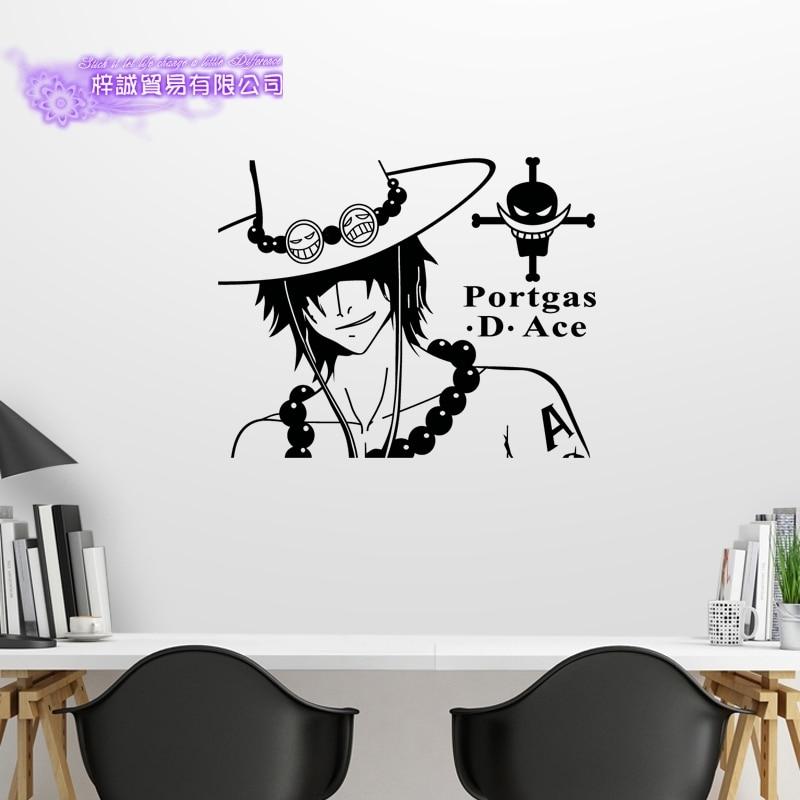 ACE одна штука Наклейка на стену виниловые наклейки Декор для дома декоративные