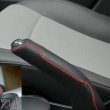 Couvercle de frein à main en cuir véritable   Pour voiture de style Chevrolet Cruze Malibu Captiva Matiz Orlando Spark TRAX Aveo Sonic Lova Sail