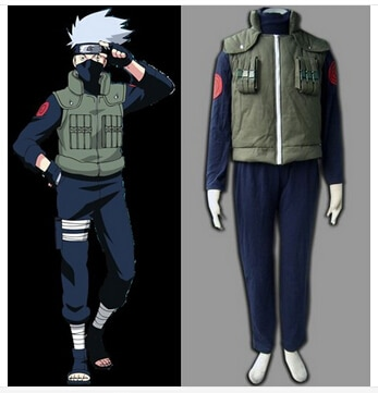 Disfraz de Halloween adulto naruto Hatake cosplay de Kakashi disfraz para hombres ropa de anime trajes deportivos hechos a medida