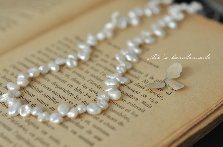 7-8mm * 5mm 80 unids/pack tono Floral Irregular perla de agua dulce Natural suelta hebra cuentas de joyería