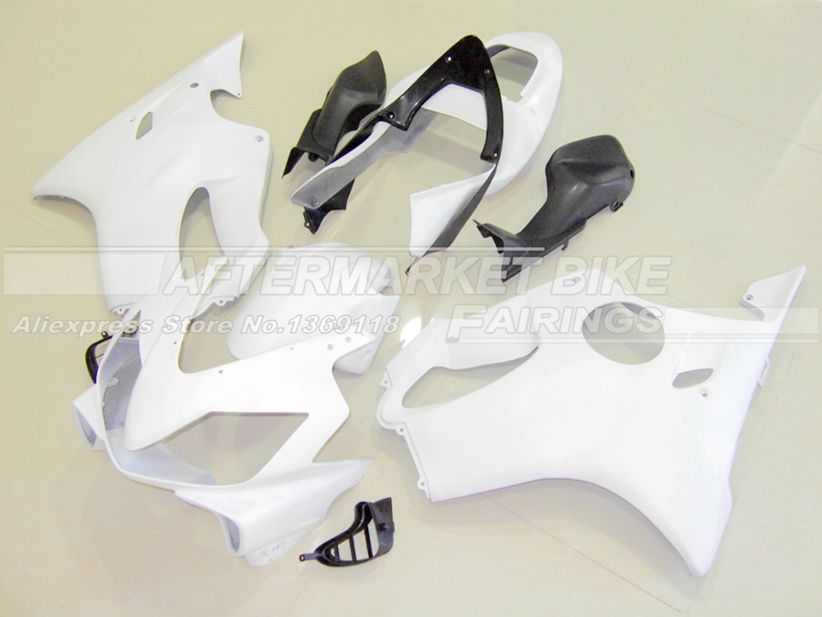 Kit de carenado de ABS completo de Motocicleta sin pintar para Honda CBR600F4i 2001 2002 2003 moldeado por inyección carrocería en blanco