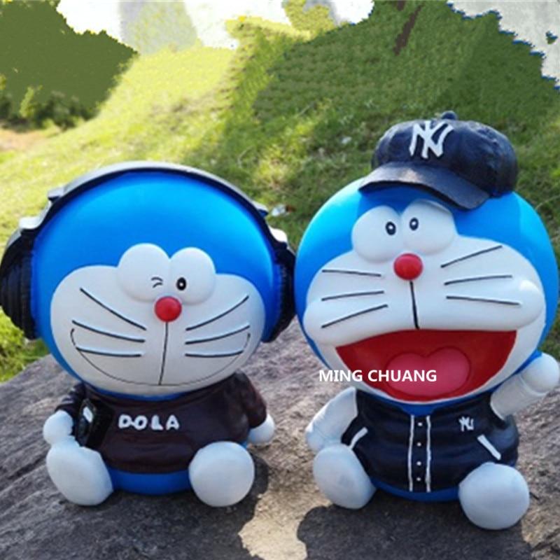 Caixa de Poupança Ddcat Doraemon Nobita Nobi Minamoto Shizuka Konta Takeshi Dekisugi Nobi kasusa Action Figure Collectible Modelo T D130