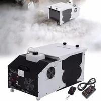 ship from us 1500w low laying smoke fog machine dmx dry ice effect stage lighting effect for xmas party dj disco wedding