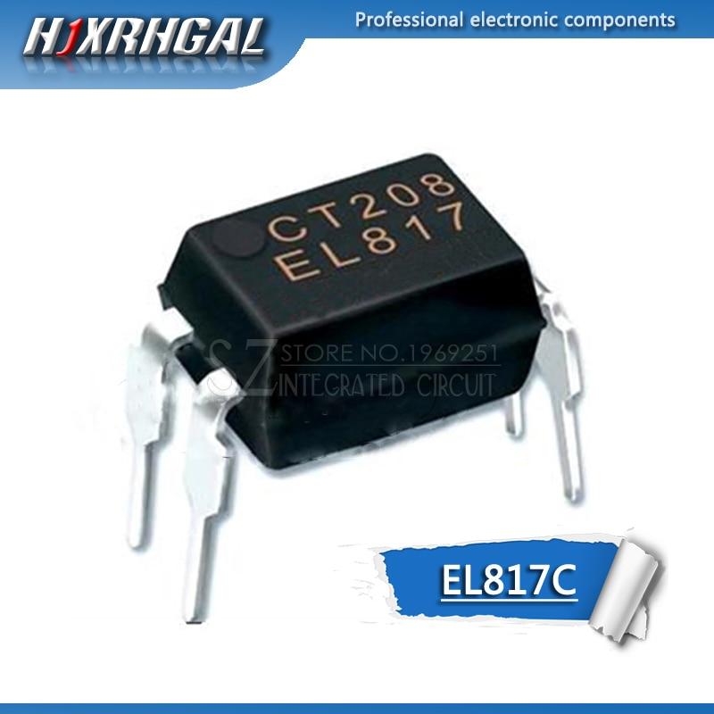 50 Uds EL817C DIP4 EL817-C DIP PC817C 817C EL817 817 nuevo y original IC HJXRHGAL