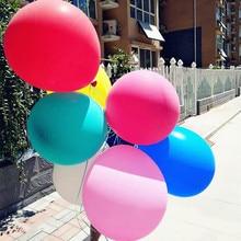 Super Large Balloons Helium Inflable Latex Balloons Birthday Wedding Party Decor ballon happy birthday globo Big Giant Balloon