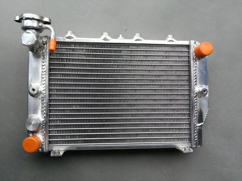 Radiador de aluminio 1984-1986 para HONDA VF700C VF 700 Magna 1984 1985 1986 nuevo