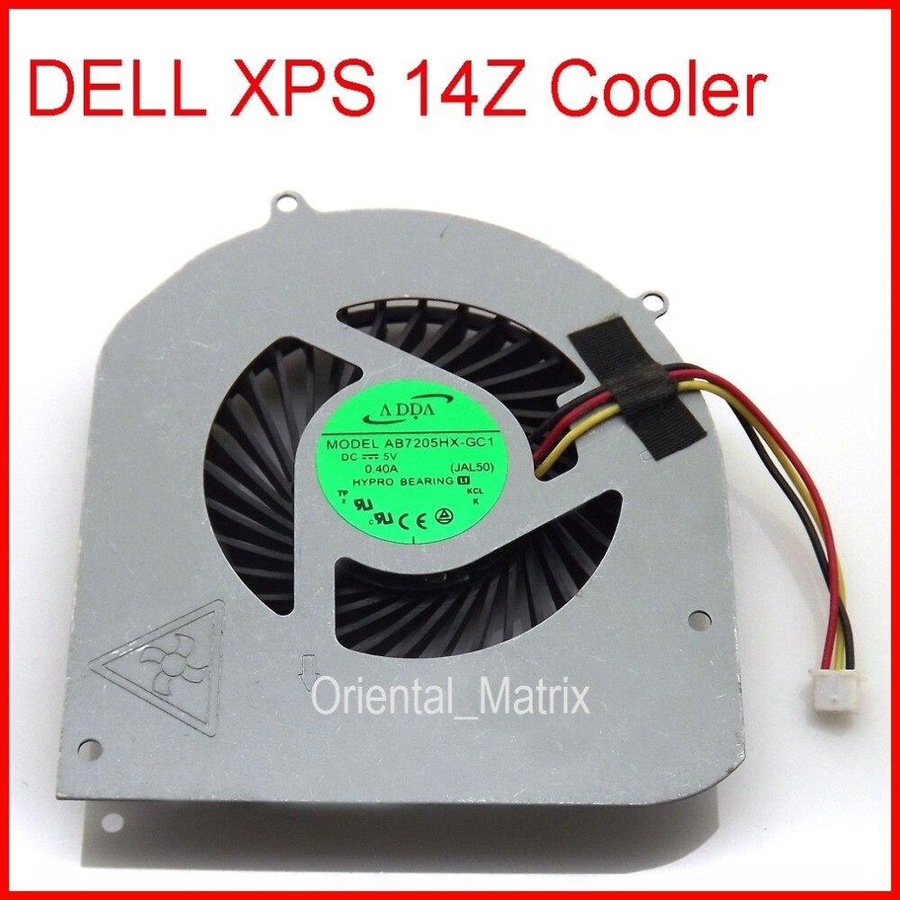Original Neue AB7205HX-GC1 KSB06105HA DC5V 0.4A Kühler Lüfter Ersatz Für Dell XPS 14Z Laptop CPU Kühler Lüfter