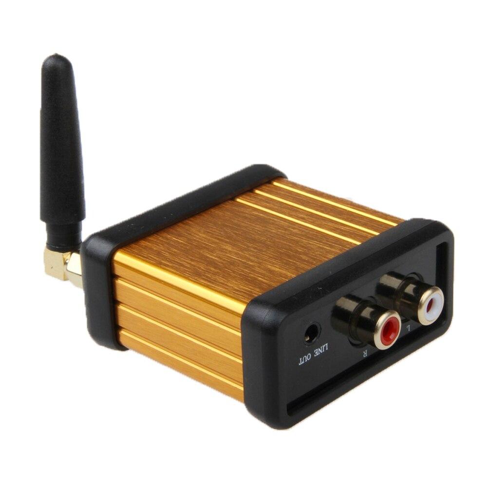 HIFI Bluetooth RCA Aux 3.5mm Aptx LL récepteur de musique à faible latence adaptateur Audio stéréo sans fil amplificateur de voiture à faire soi-même