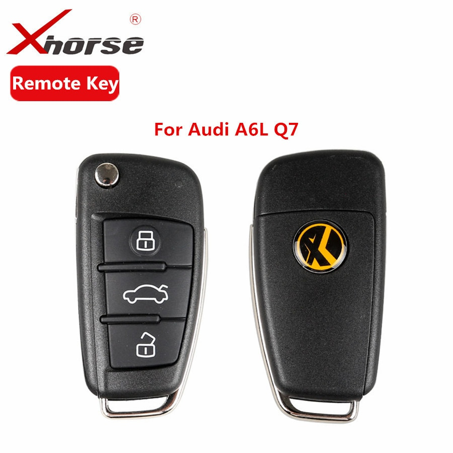 XHORSE VVDI2 универсальный дистанционный ключ 3 кнопки для Audi A6L Q7 Тип дистанционный ключ Программа X003 пульт дистанционного управления 5 шт./лот