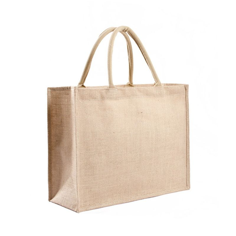 Bolsas reutilizables de cocina para comestibles, bolsas naturales de arpillera, bolsas de yute