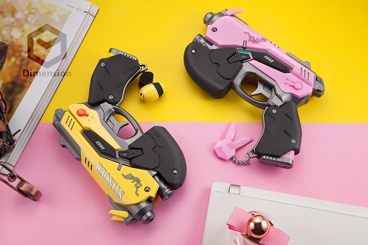 D. va cosplay adereços arma modelo 8000 mah power bank carregador usb