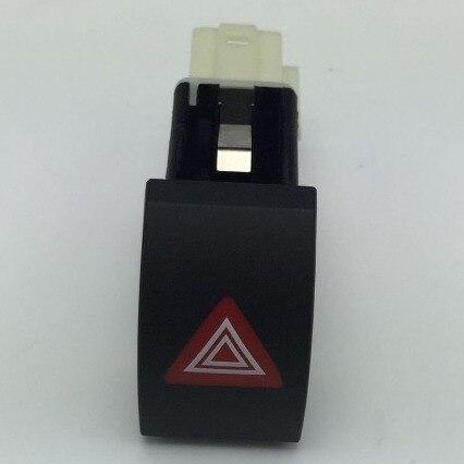 Para Skoda Octavia, interruptor intermitente de advertencia de peligro, luz de emergencia, triángulo rojo, botón 1ZD 953 235 A