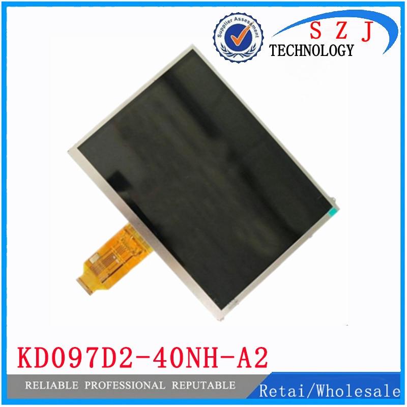 Original 9.7 inch TFT 40pin LCD Display KD097D2-40NH-A2 V1 FPC KD097D2 Tablet pc LCD screen panel Free shipping