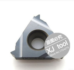 16 er 14 w, inserções indexáveis do torno do rosqueamento do carboneto de tungstênio para o suporte rosqueado do torno, suportes da ferramenta de gerencio da linha