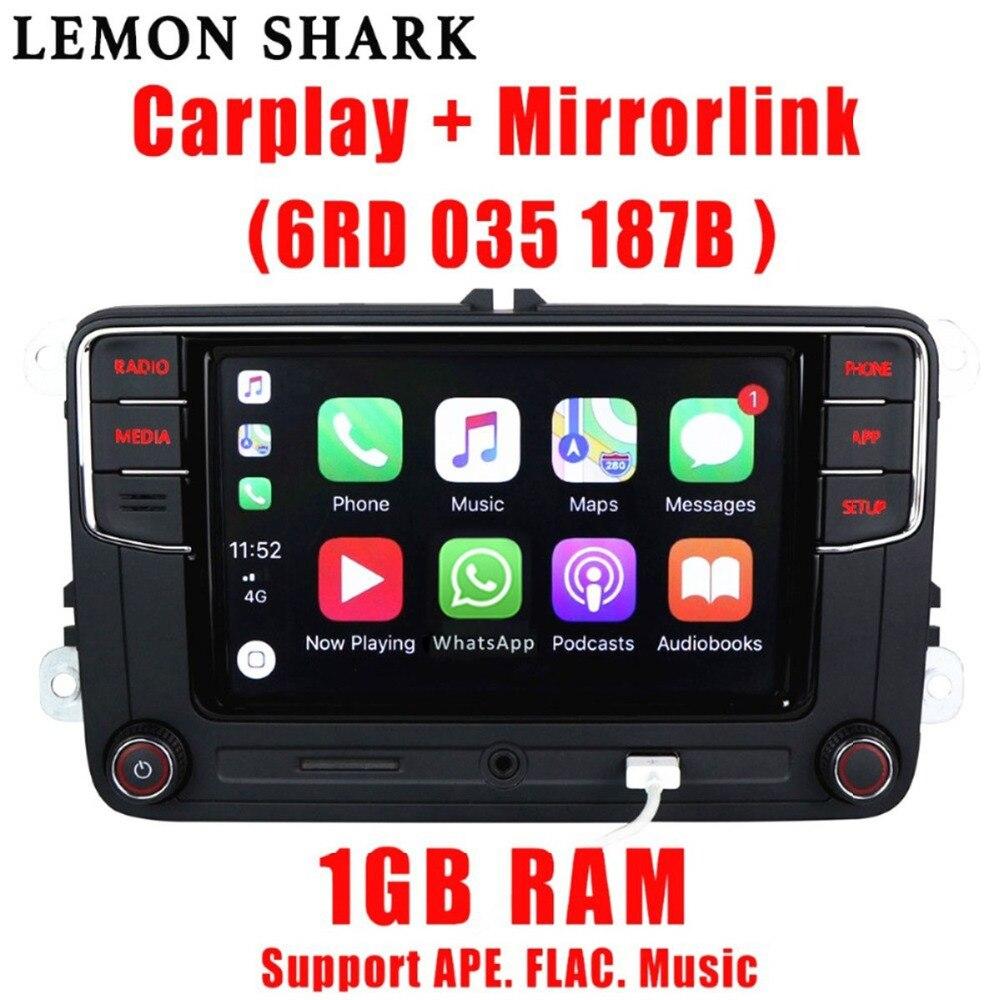 Rcd330 más RCD330G Carplay coche MIB Radio RCD 330 330G 6RD 035 187B para VW Golf 6 Jetta CC MK6 MK5 Tiguan Passat B6 B7 187B