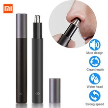 Electric Nose Hair Trimmer and Ear Hair Trimmer Vacuum Cleaning System For Men's Nose Hair Trimmer I