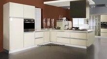 Armoire de cuisine haute brillance/laque moderne (LH-LA083)