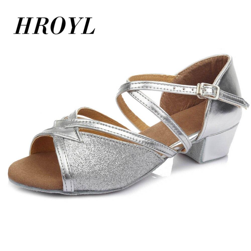 Новая детская бальная танцевальная обувь для малышей; Для детей; Для девочек; Современные латинские кроссовки; Танцевальная обувь; Мягкая обувь для девочек; Танцевальная обувь для сальсы и Танго