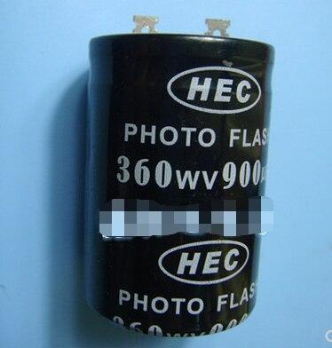 Condensateur Photo Flash 360v 900uf 35*50mm