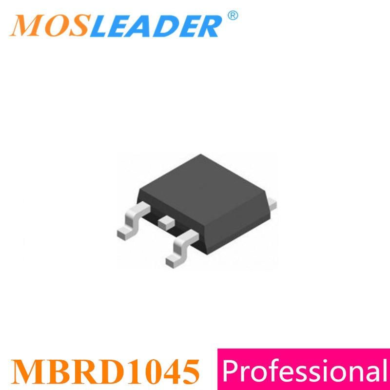 Mosleader MBRD1045 S10C45D TO252 100 pcs 1000 pcs DPAK 10A 45 v Schottky de Alta qualidade