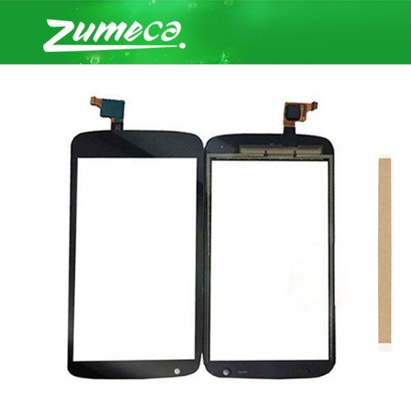 4,7 pulgadas para HTC Desire 526 526G 526H pantalla táctil digitalizador lente de panel táctil vidrio reemplazo parte Color negro con cinta