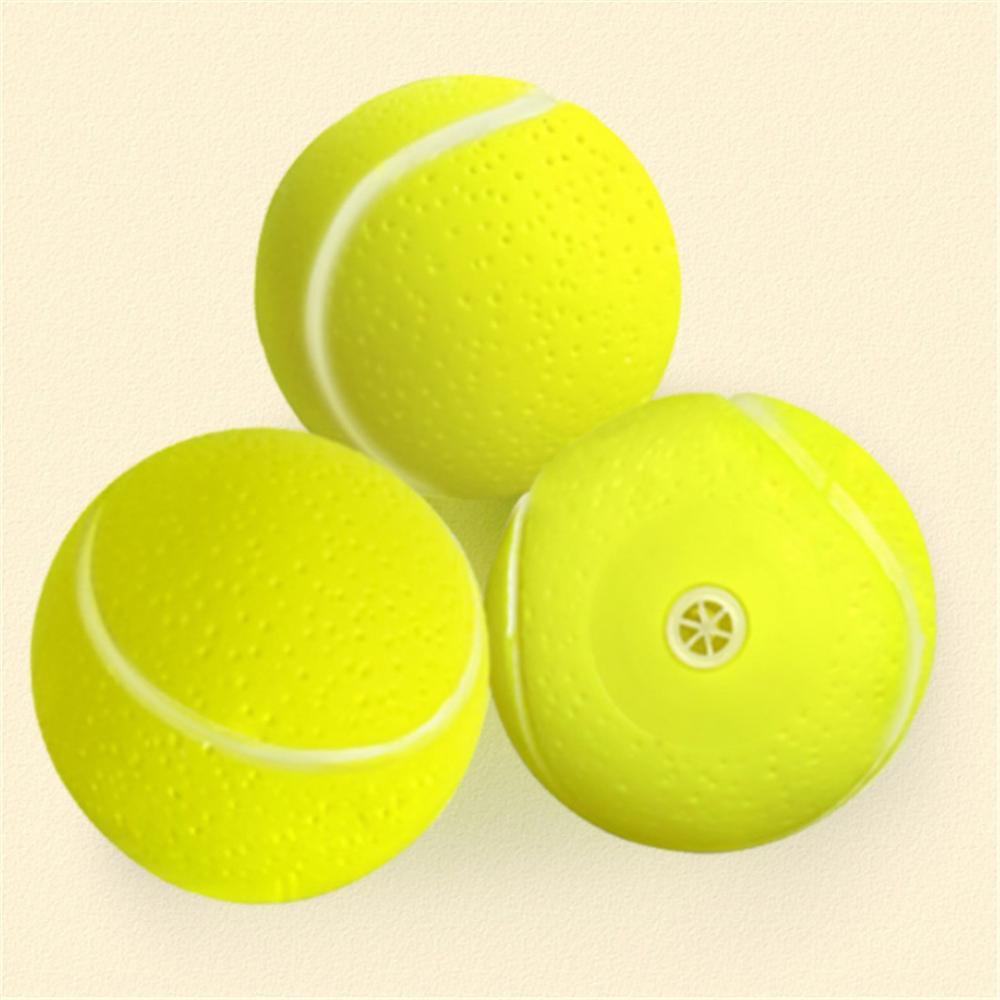 Pelota tenis gigante para masticar perros, pelota de tenis inflable grande para mascotas, juguetes suministros para mascotas, Cricket al aire libre, juguete para perros