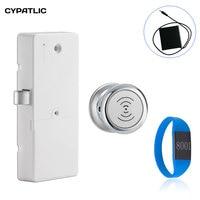 CYPATLIC Electronic 125KHZ rfid Cabinet Lock Keyless Gym Locker Cabinet Lock With External Power Supply