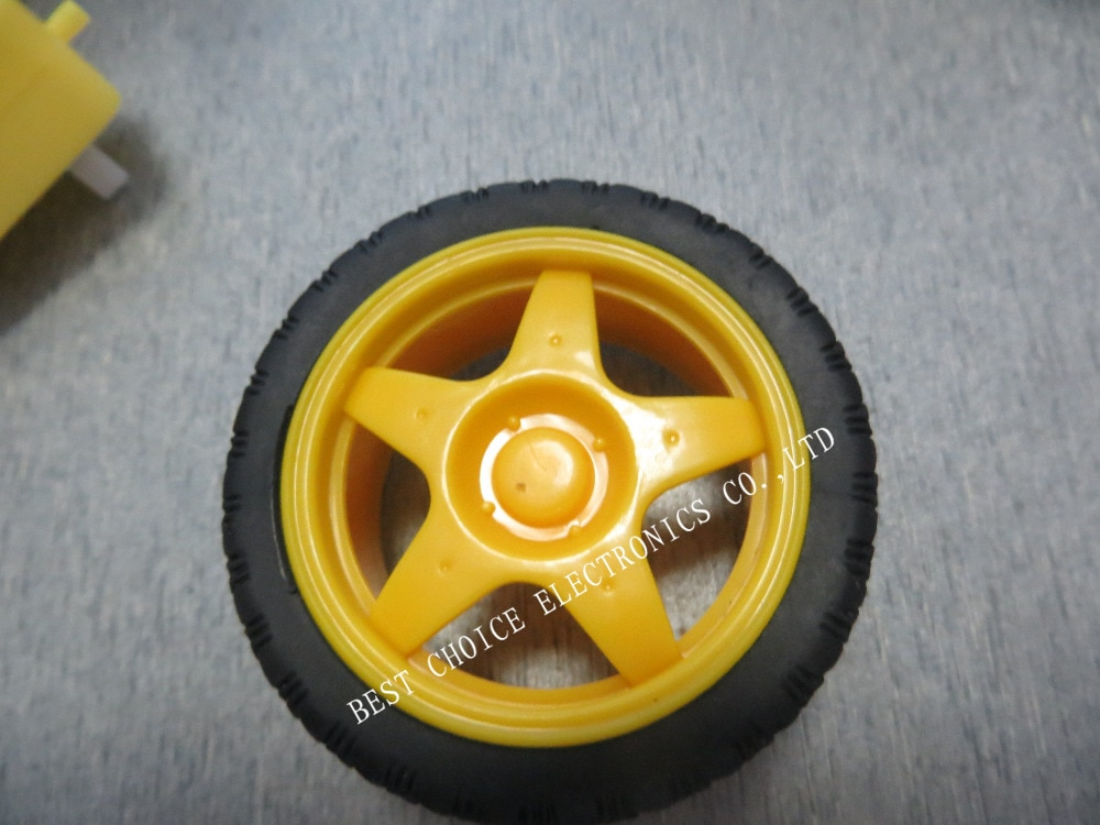66 мм 1:48 маленькая модель смарт автомобиля пластиковый робот колесо шины