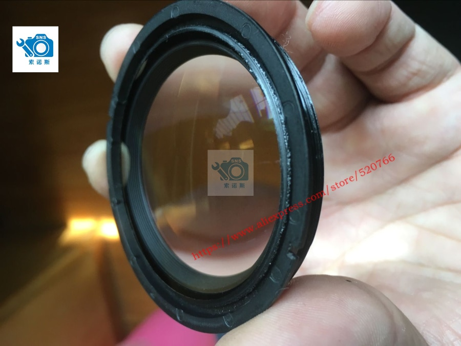 90% новый не царапается оригинал для niko AF-S DX Nikkor 18-105 мм F/3,5-5,6G ED VR Переднее стекло 18-105 1-й Блок объектива 1B101-012