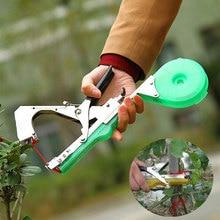 10000 adet/takım Bant Aracı Bağlayıcı Tırnak Tapener Çiçek Sebze Bind Şube Makinesi + 20 adet/grup Tapetool Bant Tapener Bahçe Aletleri