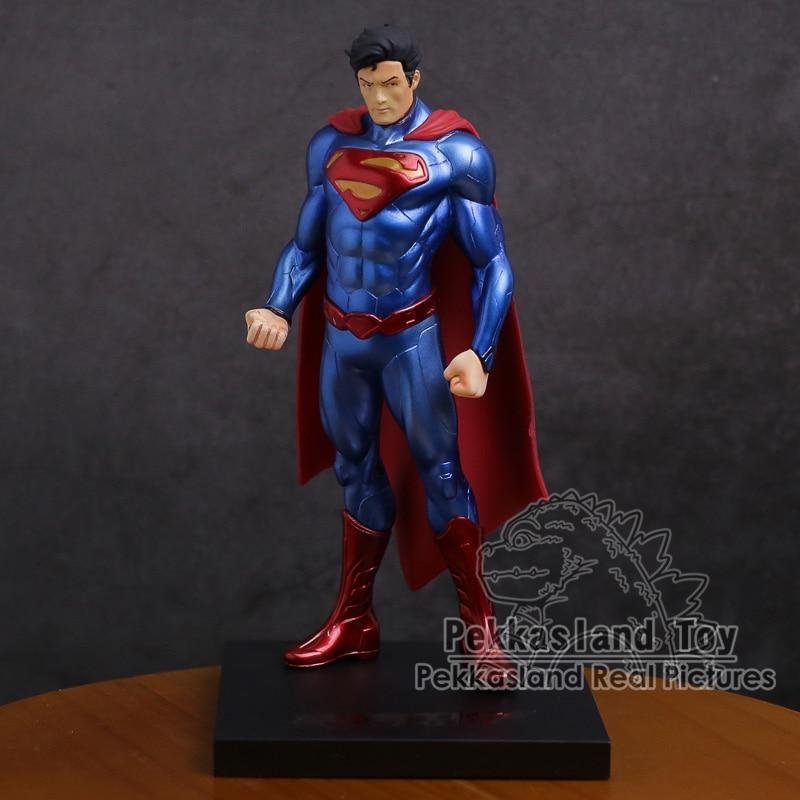 ARTFX + Статуя Супермена, Супермена, 1/10 весы, ПВХ фигурка, Коллекционная модель игрушки