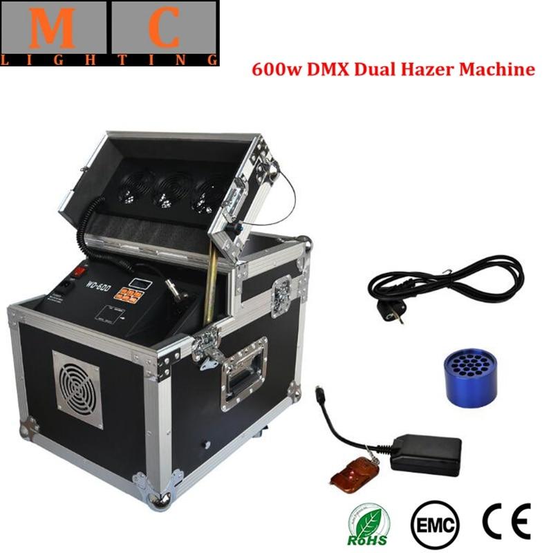 600W Dual Hazer DMX Haze Machine