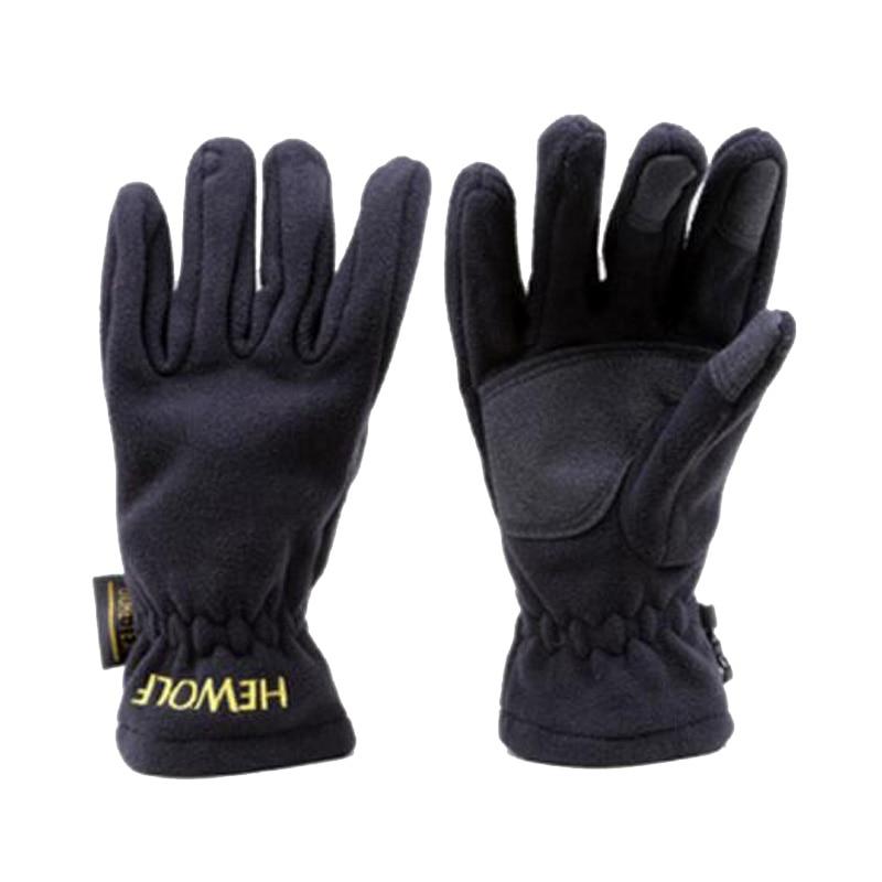 CKAHSBI Thick Warm Fleece Winter Mittens Outdoor Sports Waterproof Climbing Riding Hiking Gloves Men