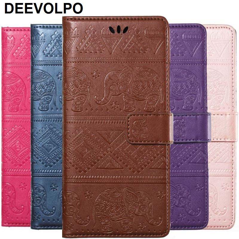 DEEVOLPO caso Fundas Samsung Galaxy Note8 S8 S7 S6 borde A3 A5 J3 J5 J7 2017 J1 2016 J120 J330 Elefantes cartera D02Z