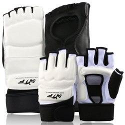 Frete grátis 1 conjunto taekwondo sparring karate pé guarda protetor meias & luvas de mão engrenagem