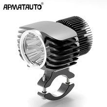 Apmatauto 1x LED faro esterno per auto 18W 15W 10W 6W bianco alto/basso moto DRL faro faretto Drive fendinebbia