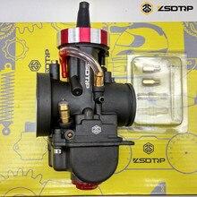 ZSDTRP PWK mikuni nueva modificación modelo 28 30 32 34mm caja del carburador para yamaha FZ16 y otros motores de marca