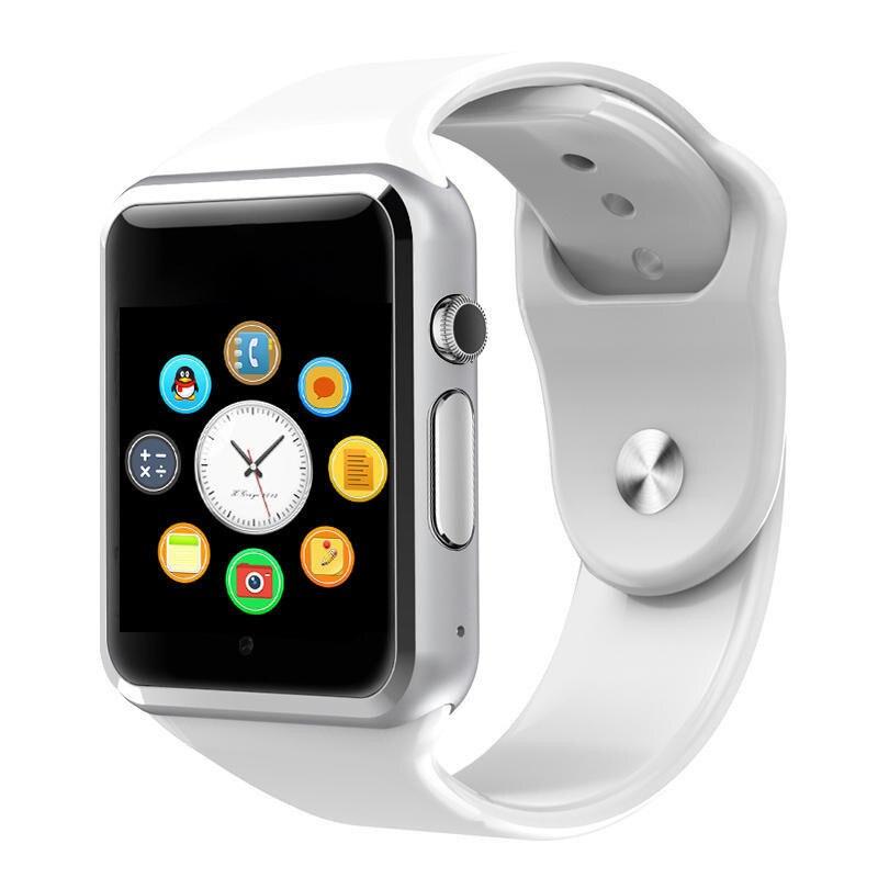 A1 WristWatch Bluetooth Smart Watch Sport Pedometer  Support SIM TF Card For Android Smartphone  Smartwatch PK GT08 DZ09 iwo 8