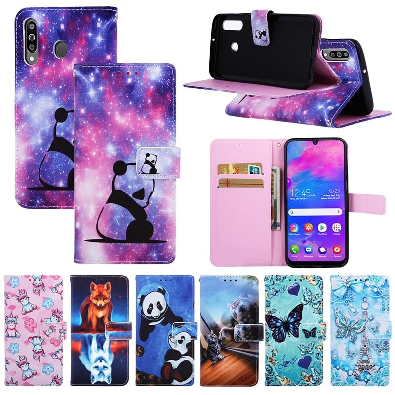 Для Couqe Hawei Honor 8A кожаный чехол-кошелек для телефона Huawei Y6 2019 флип-чехол для Etui Hawei Honor 8A 8 A A8 Чехол-книжка