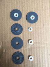 Accessoires de Machine à tricoter à roseaux   2 pièces, roue en caoutchouc pour argent Sk270 Sk 280 Sk840 Sk580 SK210 SK260